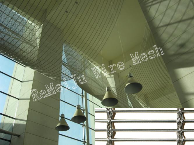 metal fabric Ceiling-3811